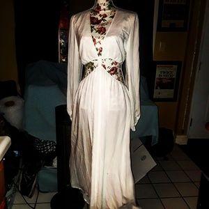 Sexy WAYF white two piece dress